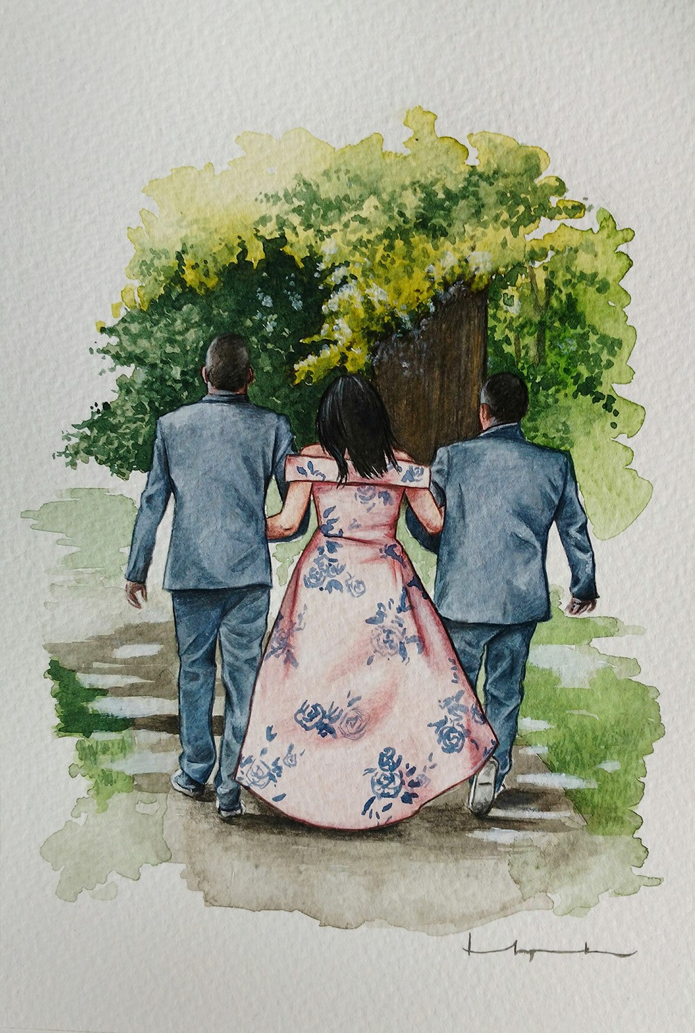 Wedding Guest Portrait
